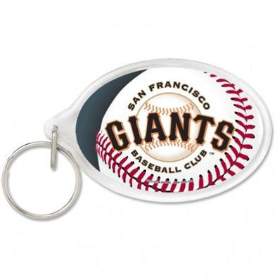 KEYCHAIN SF OVAL 19, SACRAMENTO RIVER CATS