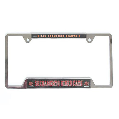 LICENSE PLATE FRAME SF/RC, SACRAMENTO RIVER CATS
