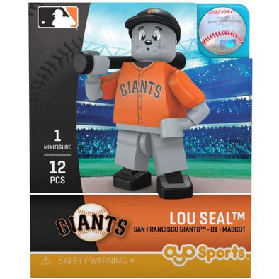 OYO MINI FIGURE LOU SEAL, SACRAMENTO RIVER CATS