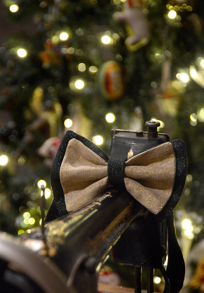 12 Days of Christmas, Day 8 - Sew a Bowtie!