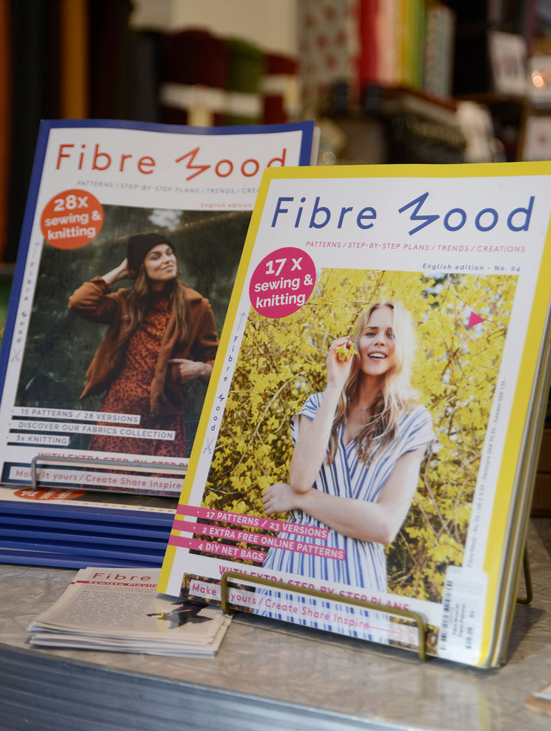 Merchant and Mills Workbook, and Fibre Mood Magazine