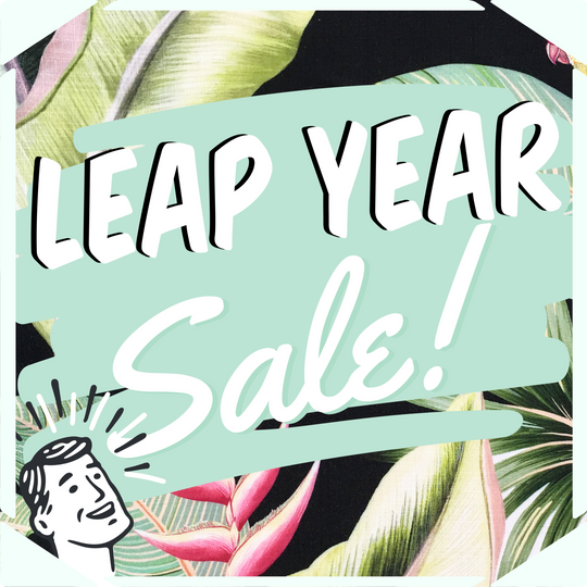 Leap Year Sale at RICK RACK!