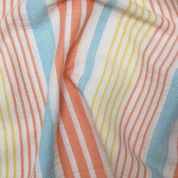 Katia - Cotton - Panama Stripes - Orange
