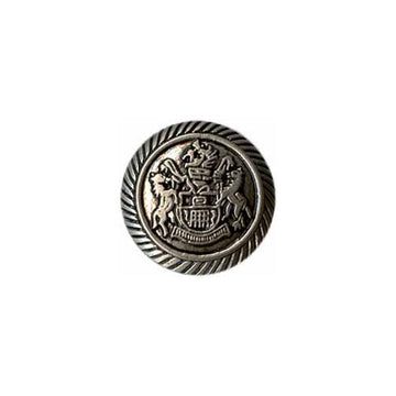 Elan - Buttons - 25mm - Dutch Silver