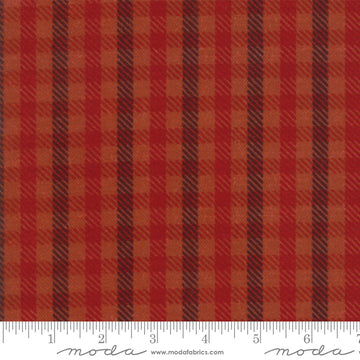 Moda - Cotton - Flannel - Red Plaid