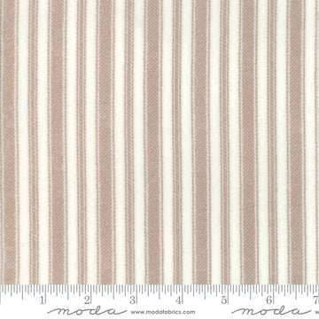 Moda - Cotton - Flannel - Cream Stripe