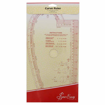 SEW EASY -,Curve Ruler
