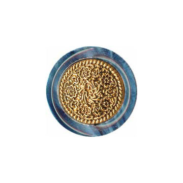 Elan - Buttons - 25mm - Medium Blue