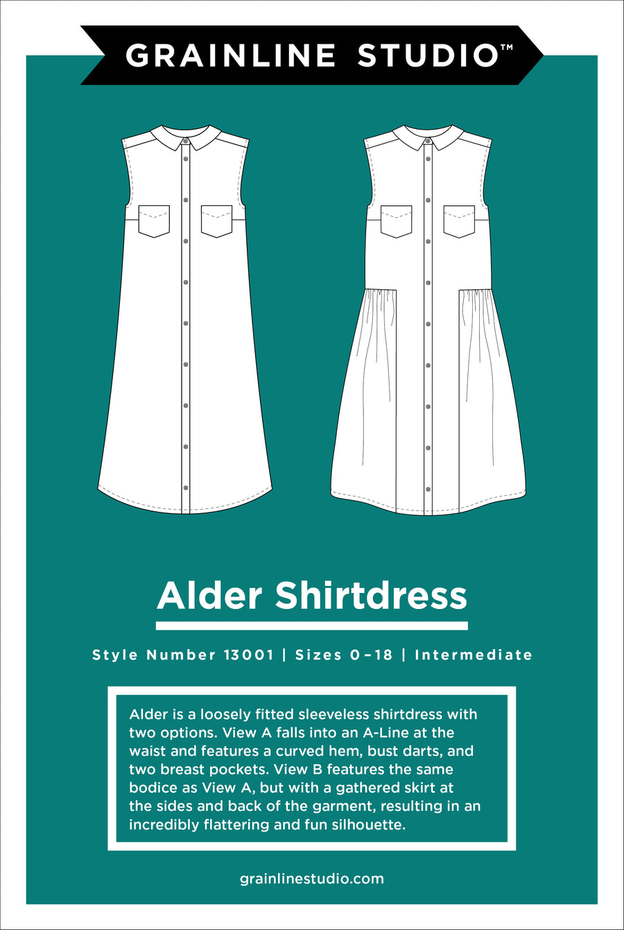 Grainline Studio - Alder Shirtdress