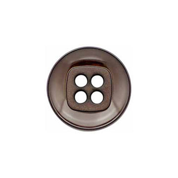 Elan - Buttons - 20mm - Brown