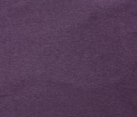 Cotton - Organic Knit Melange - Purple