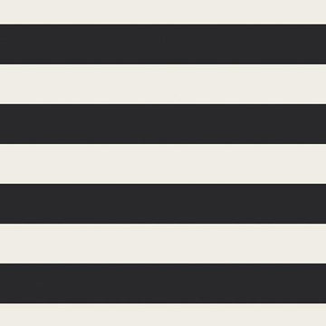 AGF - Cotton - Knit - Black & White Stripe
