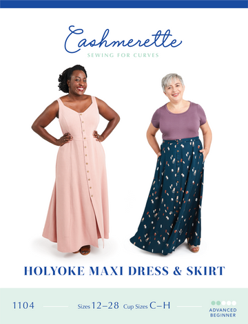 Cashmerette - Holyoke Maxi Dress & Skirt
