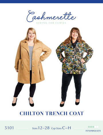 Cashmerette - Chilton Trench Coat