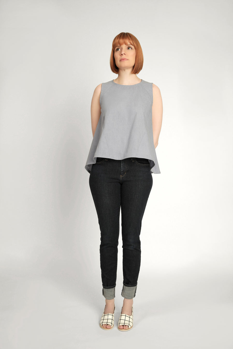 In the Folds - Collins Top