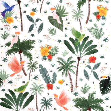 Katia - Cotton - Poplin - Polynesian Birds