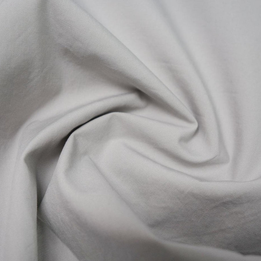 Cotton - Poplin - Washed Finish