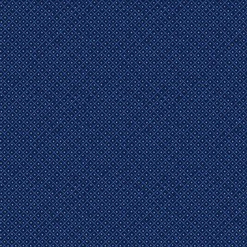 Cotton - Teatime - Dark Blue