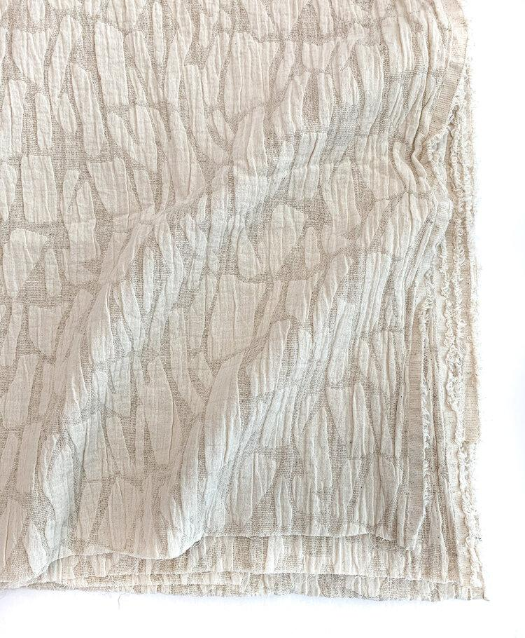 Cotton Linen - Jacquard