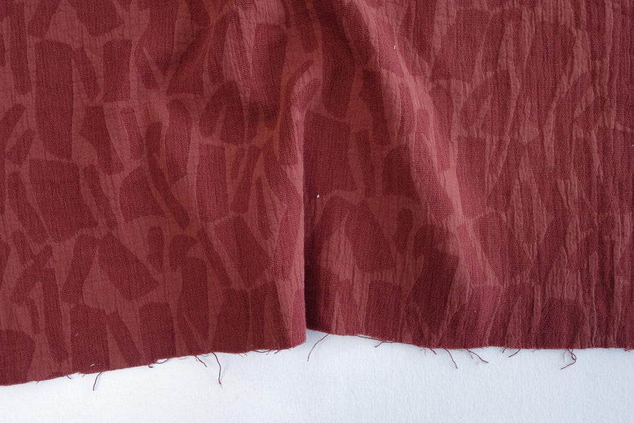 Cotton Viscose - Reversible - Jacquard