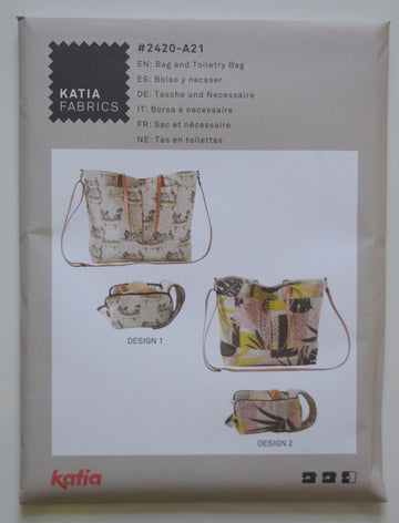 Katia - Bag & Toiletry BagA21