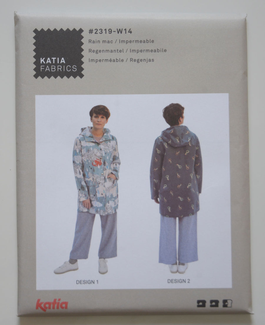 Katia - W14 Womens Raincoat