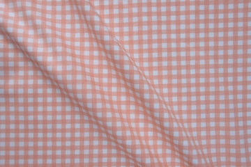 Moda - Cotton - Gingham - Peach