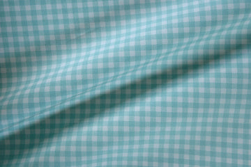 Moda - Cotton - Gingham - Aqua