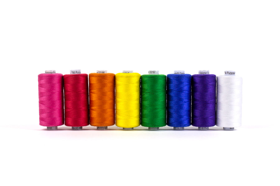Wonderfil - Designer and Serger Thread Pack - 8 Spools