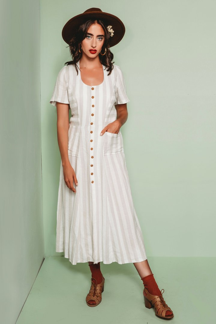 Friday Pattern Company - Hughes Dress