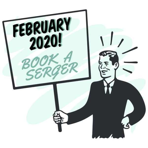 February 2020 - Book Our Janome Serger