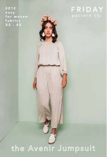 Friday Pattern Company - Avenir Jumpsuit
