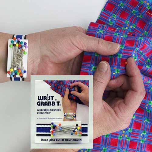 GRABBIT - Magnetic Wrist Pincushion