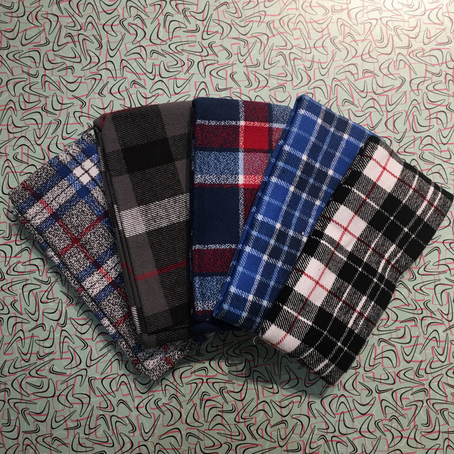 Flannel - Fat Quarter Bundle - Plaid