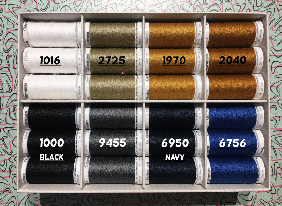 GUTERMANN - Denim Thread -100m
