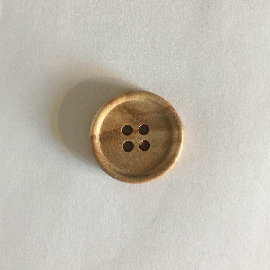 Buttons - 25mm - 4 Hole Wood
