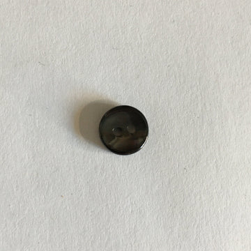 Button - 9mm - Black Concave