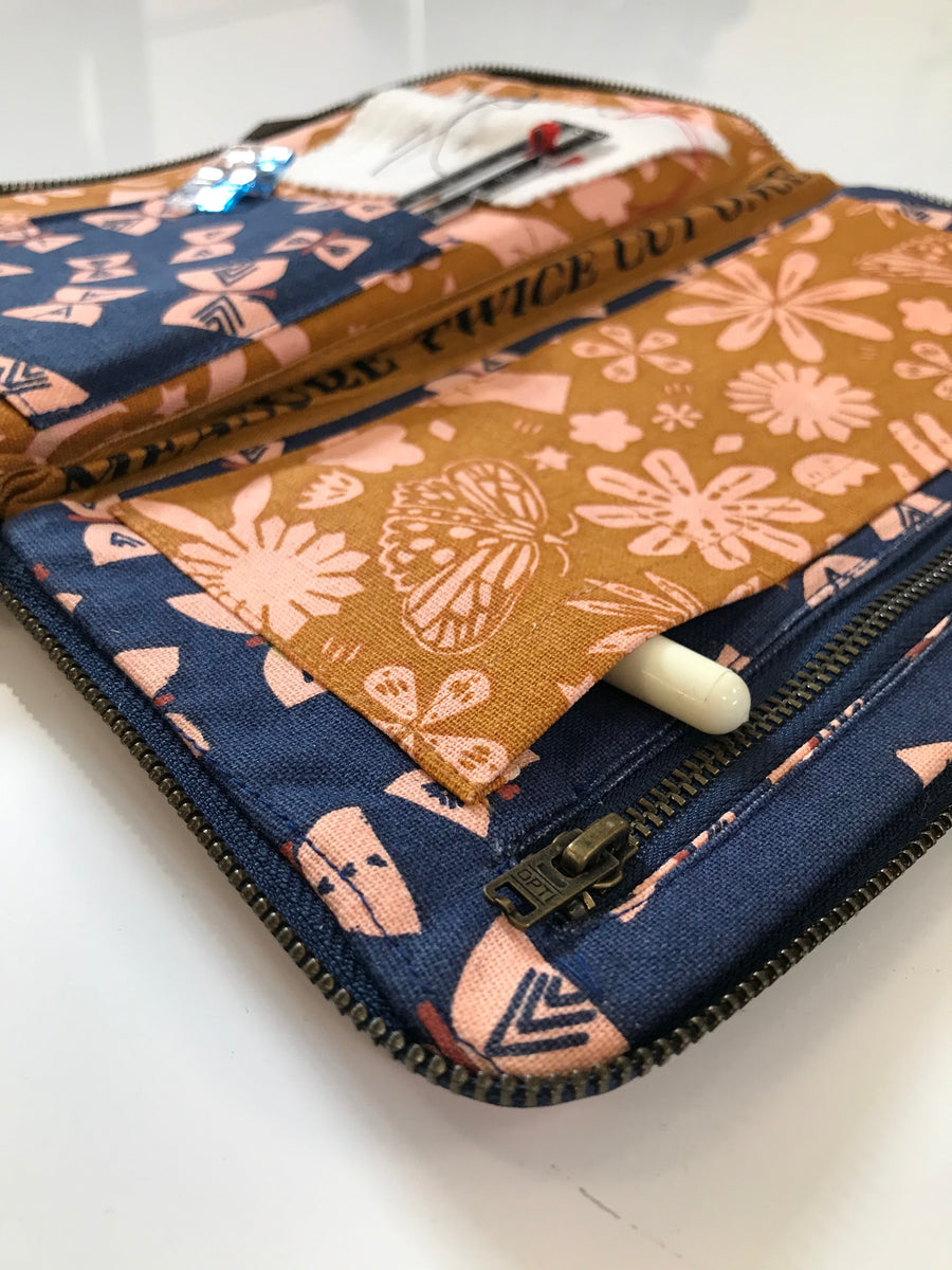 Ruby Star - Sewing Wallet - Earth