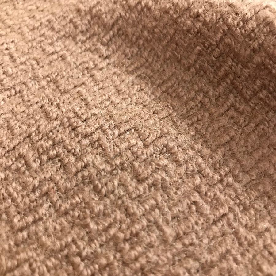 Wool Blend - Boucle - Camel