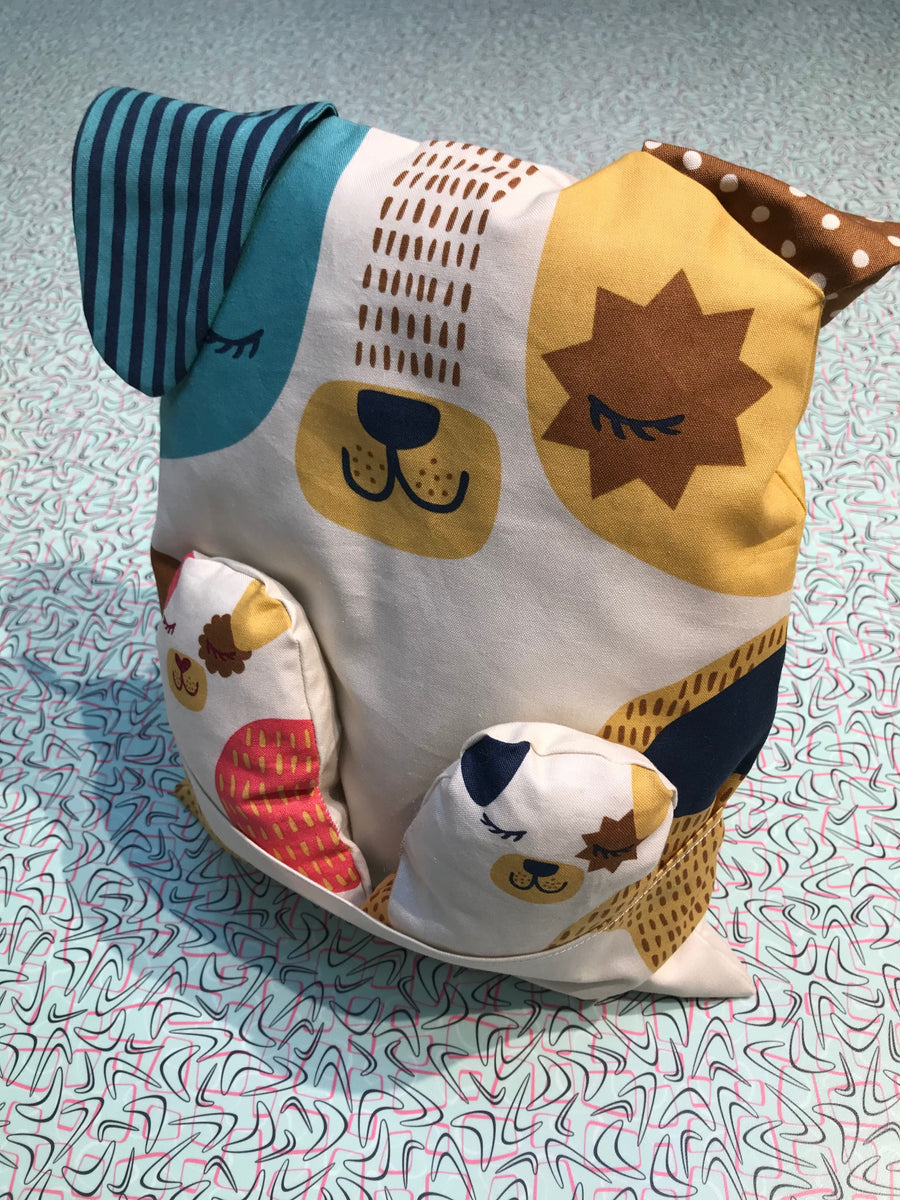 Moda - Cotton - Woof Meow - Woof Panel