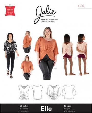 Jalie - Elle Reversible Top