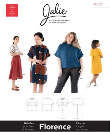 Jalie - Florence Shirt and Shirtdress