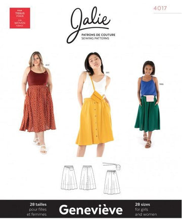 Jalie - Genevieve Pull on Gathered Skirt