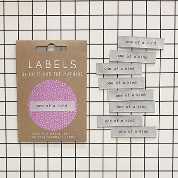 Kylie and the Machine - Sewing Label - One Of A Kind