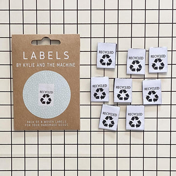 Kylie and the Machine - Sewing Label - Recycled