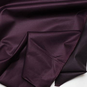 Organic Hemp Cotton - Twill - 7.96oz - Aubergine