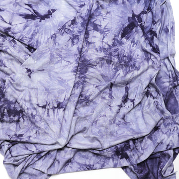 Bamboo - Knit Tie Dye - Violet