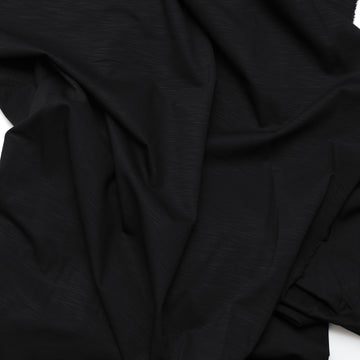Rayon Blend - Ace Broken Twill - Black