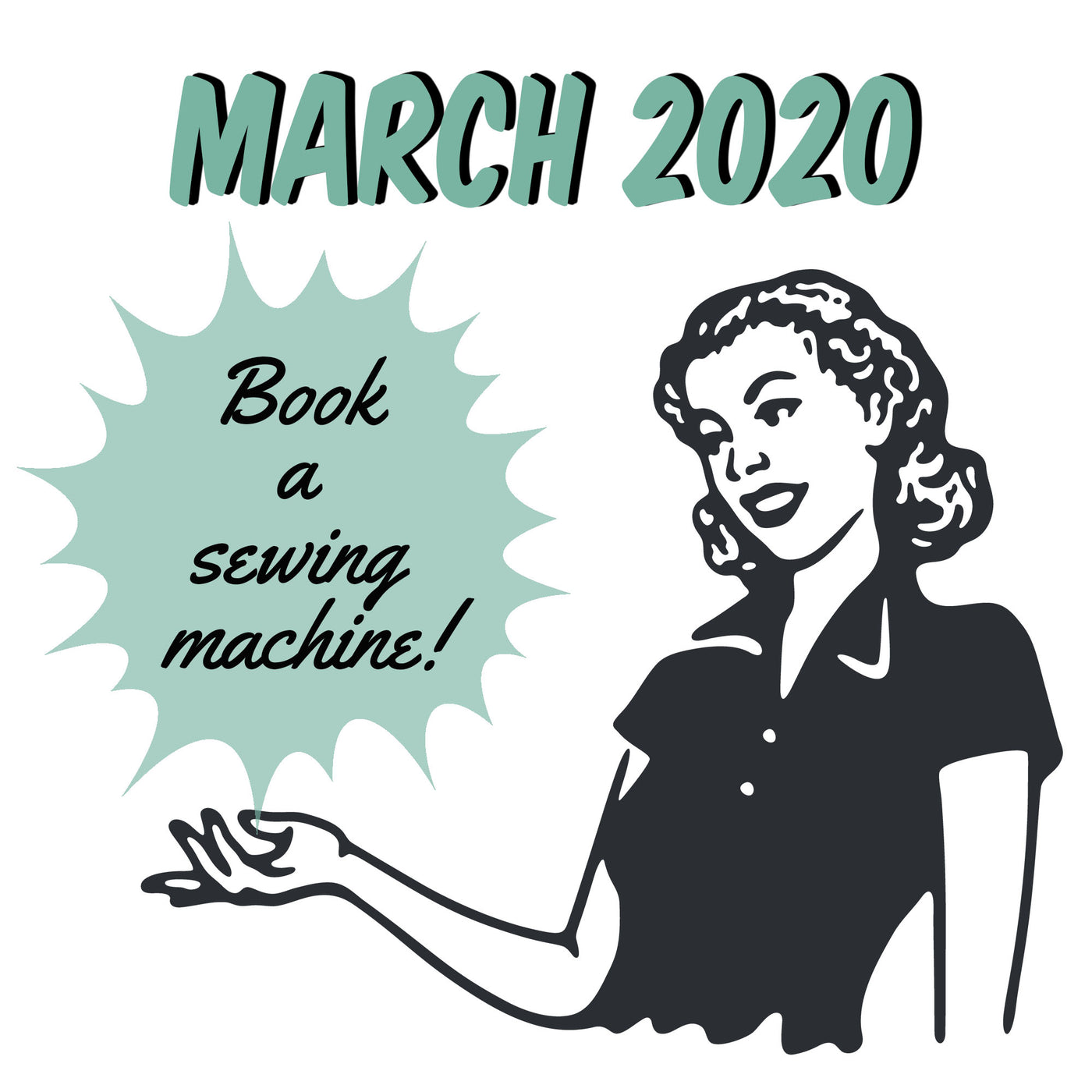 March 2020 - Book a Sewing Machine