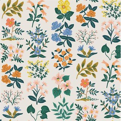 Rifle Paper Co. - Cotton Lawn - Meadow - Cream